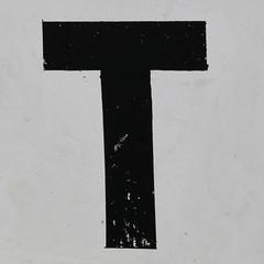 letter T (Leo Reynolds) Tags: canon t eos iso400 letter f11 oneletter 30d ttt 80mm 0ev hpexif 0002sec grouponeletter letterblack xsquarex xleol30x xxx2007xxx xratio1x1x