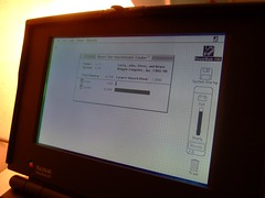 PowerBook 100 Screen (joewhk) Tags: apple powerbook macintosh mac applemac applemacintosh powerbook100 macintoshpowerbook pb100 macintoshpowerbook100 applemacintoshpowerbook100