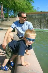 Talking to the Ducks (mmallory) Tags: cameron hayden likefatherlikeson