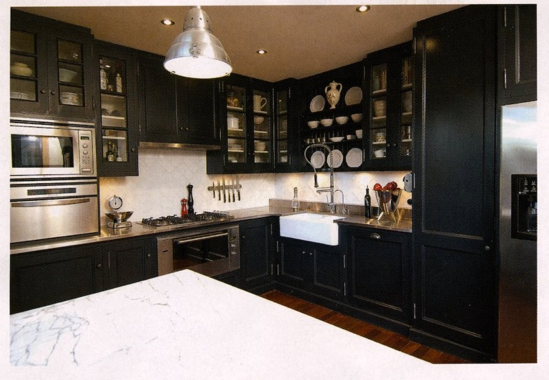 Blue Kitchen Cabinets Navy Dark