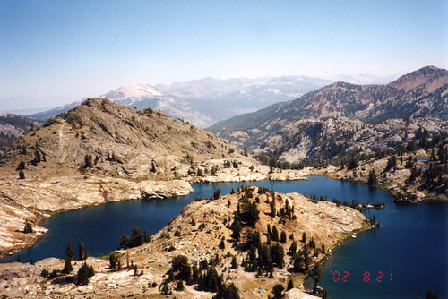 Minaret Lake, from above