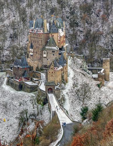 Burg Eltz in der Winterstimmung
