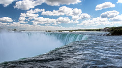 Up close to the Falls (Bob Gundersen) Tags: bobgundersen gundersen robertgundersen nikon nikoncamera nikond600 d600 niagarafalls ontario canada interesting image outside outdoor exterior scenes shots shoreline scene water waterfall landscape river blue
