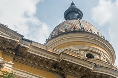 20160919 Budapest, Hungary 03528 (R H Kamen) Tags: budapest easterneurope hungary pest architecture buildingexterior cupola dome library rhkamen university