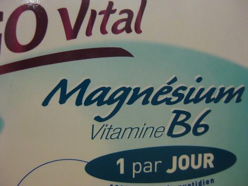 Cure de magnésium pour la reprise