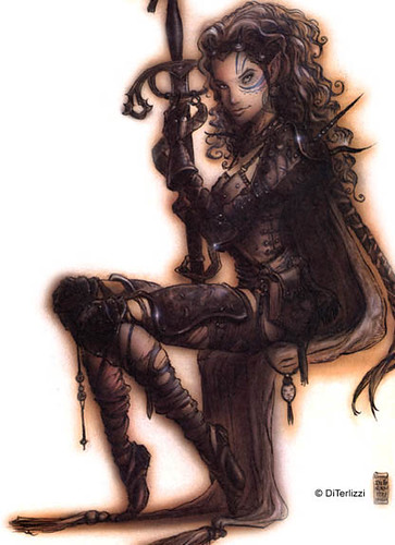 Aasimar Girl by Tony DiTerlizzi