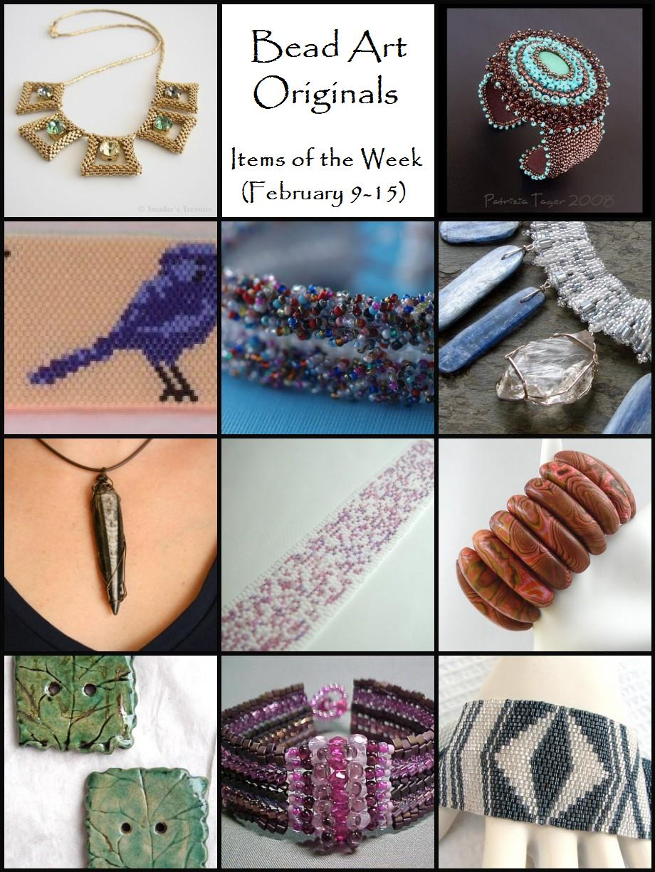 Bead Art Originals Items of the Week (2/9 - 2/15)