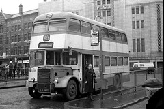 Everything is loss. (Fray Bentos) Tags: bus manchester stockport leyland selnec greatermanchesterpte stockportcorporation mja896g