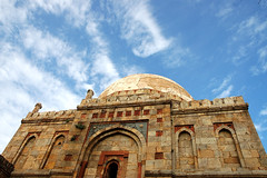 Bara Gumbad (~FreeBirD~) Tags: blue sky india travelling wow amazing interesting ancient nikon colorful asia d70 delhi explorer travellers mani traveller explore exotic stunning change historical monuments challenge babbar lodhigarden nikonstunninggallery flickexplore lovemax manibabbar maniya placesindelhi httpbirdofpreyspaceslivecom httplamenblogspotcom