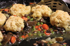 VCON Cassoulet with Biscuits - Test Recipe (teenytinyturkey) Tags: vegan biscuits cassoulet vcon ppktesterrecipe