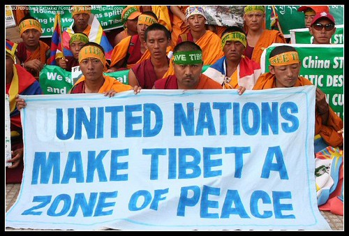 A message to UN which has turned deaf to their cause