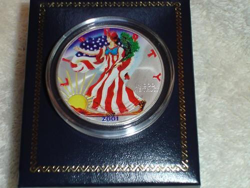 2001 American Eagle Silver Dollar Eagle Silver Dollar