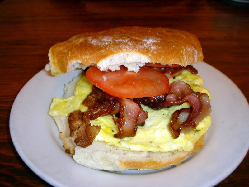 Bacon & Egg Breakfast Sandwich