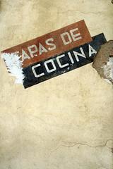 tapas de cocina ((Lolita) • 8) Tags: pared carteles 13 callejeando letras guadalara sacedon ltytr2