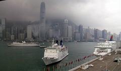 China - Hong Kong (Chris&Steve) Tags: china sea ferry hongkong harbor boat marine ship harbour vessel maritime nautical shipping pisces jimei 2007 victoriaharbour victoriaharbor 2ifc starcruises starpisces 10millionphotos wasaqueen