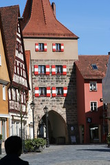 Lauf, Marktplatz, Hersbrucker Tor vW, 2007