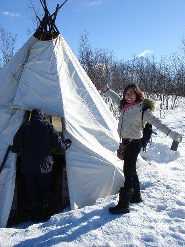 Hey Look! A Tent!