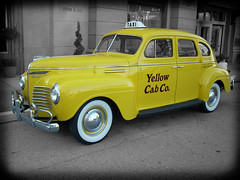 Yellow Cab Co. (Scott Kinmartin) Tags: classic car classiccar cab taxi yellowcab plymouth explore abigfave 1939plymouth top20yellow