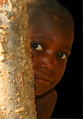 I see you! (LindsayStark) Tags: africa travel girl war sierraleone conflict humanrights humanitarian displaced idpcamp refugeecamp idps idp humanitarianaid emergencyrelief idpcamps waraffected children