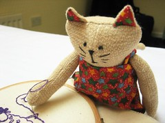 chubbey stitching (ccyytt) Tags: edinburgh purple handmade embroidery craft wip chubbey