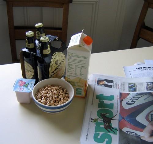 St Patrick's Day Breakfast by ganchingabz