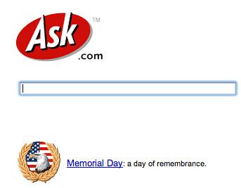 Ask.com Memorial Day 07