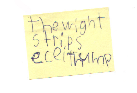 the wight strips