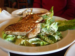 Smoked Chicken Caesar Salad - Attitudes