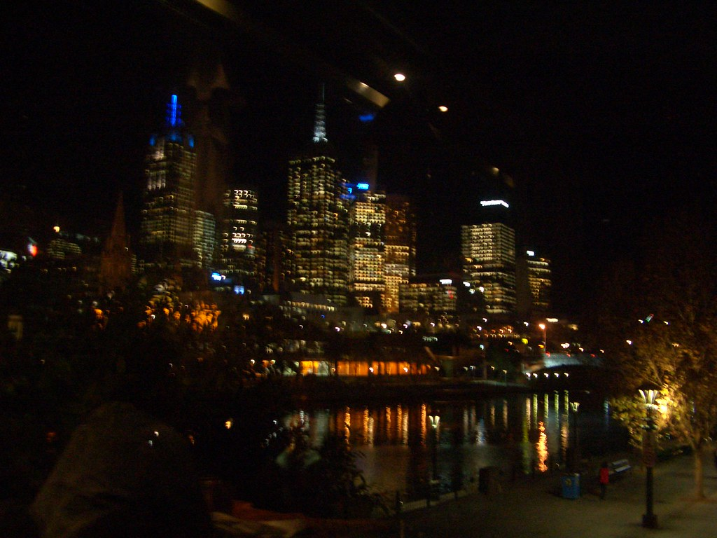 Melbourne skyline from Tutto Bene