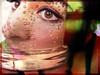 Et si l'on partageait un verre en terrasse ? (lavomatic) Tags: eye face photoshop self autoportrait oeil reflet visage bulle verre perrier retouche