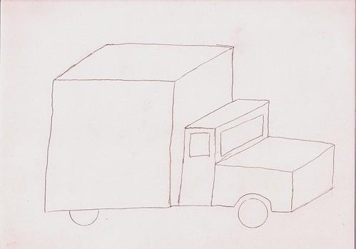 Truck 1th sketch