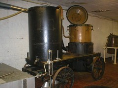 Pot Still on Wheels