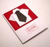 Origami Shirt/necktie Valentine's Day Card