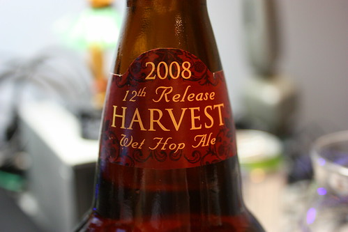 Sierra Nevada 2008 12th Release Harvest Wet Hop Ale
