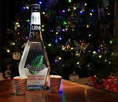 A Shot for You & Me (Cindy's Here) Tags: peppermintschnapps booze liquor candycane candycaneshotglasses shotglasses seasonal christmas bokeh canon ansh challenge 64365 msh12166 msh1216