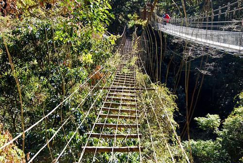 舊的鐵線橋