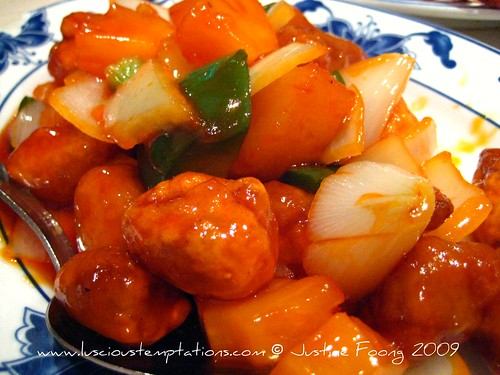 Sweet and Sour Pork - Mayflower, London