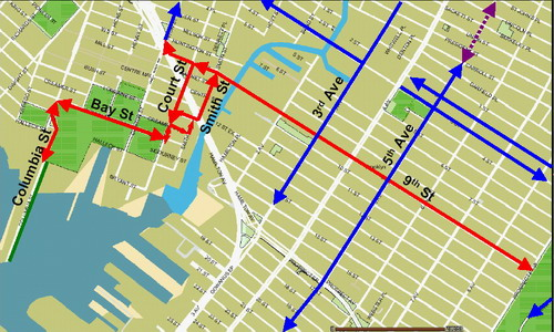 Bike Route Map
