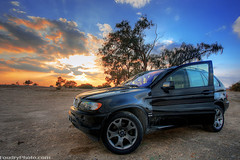 BMW X5 - HDR (A.alFoudry) Tags: sunset sky black clouds canon bms 5d kuwait hdr q8 x5 abdullah 1740l  kwt   kuw xnuzha alfoudry  abdullahalfoudry q8picturescom superaplus aplusphoto wwwfoudryphotocom kuwaitvoluntaryworkcenter  great123
