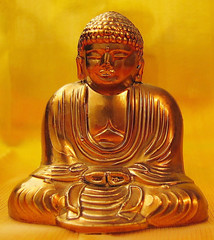 Siddhartha Gautama (gustaf wallen) Tags: yellow gold peace buddha supershot siddharthagautama colorphotoaward aplusphoto diamondclassphotographer colourartaward