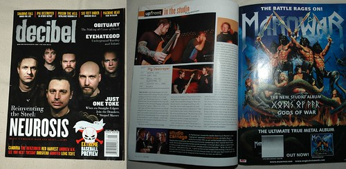 my photos in decibel magazine