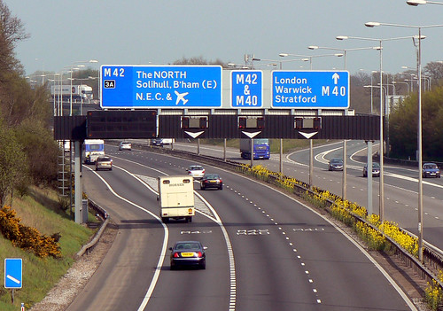 M42 Junction 3A