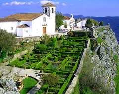 Zen Garden (Sandra_R) Tags: light inspiration mountains green portugal church nature beauty grass rock stone wall architecture garden wonder landscape outdoors photography focus heaven paradise quiet colours peace afternoon exterior natural bright background traditional details rustic clarity lifestyle peak nobody fresh foliage explore zen typical ornate viewpoint alentejo stillness blast landforms naturalworld grasslands clearsky stylish urbanscenes marvo fortitude purity nationalsymbols ruralscenes hillsandmountains portalegre castelodevide serradesomamede
