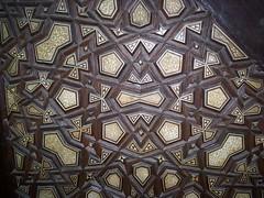 Qaytbay madrassa, minbar detail (helen_romberg) Tags: architecture egypt mosque historic cairo cityofthedead islamiccairo northerncemetery amribnalas