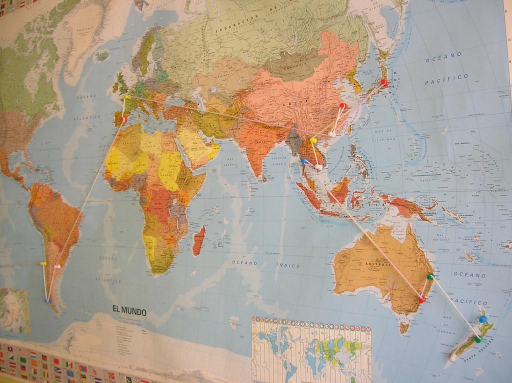 mapa, blog la vuelta al mundo de ana y dani, entrevista la vuelta al mundo de ana y dani, vuelta al mundo, round the world, información viajes, consejos, fotos, guía, diario, excursiones