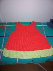 half a dress