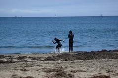 DSC_0210 (DigitalAudioTape) Tags: santacruz beach skimboarding skimboard