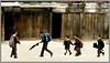 A Gang of young buddies (Sukanto Debnath) Tags: girls india boys kids umbrella sony schoolchildren f828 sikkim blueribbonwinner debnath anawesomeshot ravagla sukanto sukantodebnath