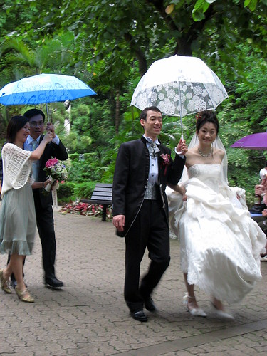 Wedding in Hong Kong Park