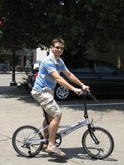 Dahon bike from Reser Bicycle Outfitters in Newport (bousinka) Tags: bike kentucky ky newport monmouth folding dahon reser